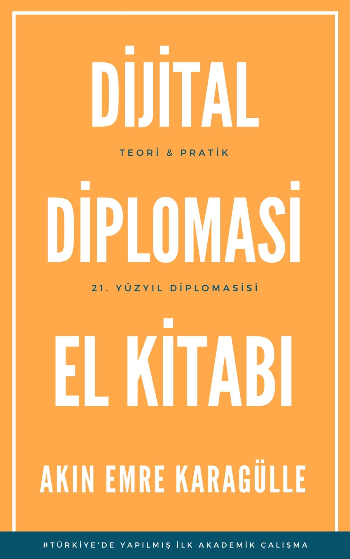 Dijital Diplomasi El Kitabı Kapak